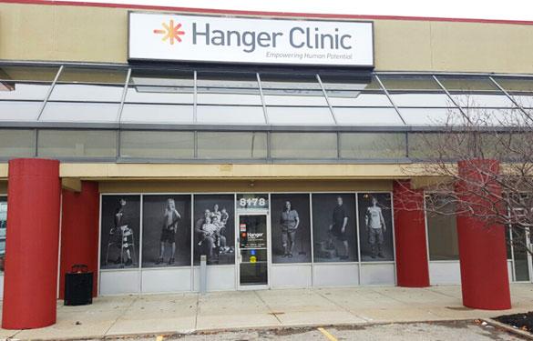Hanger Clinic – Outside